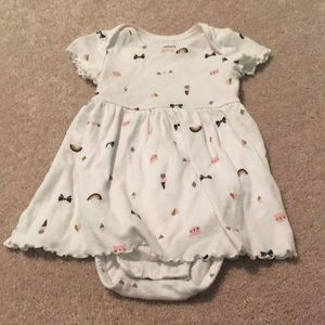 5/$25🍭Carter's Dress with Bodysuit 6-9
